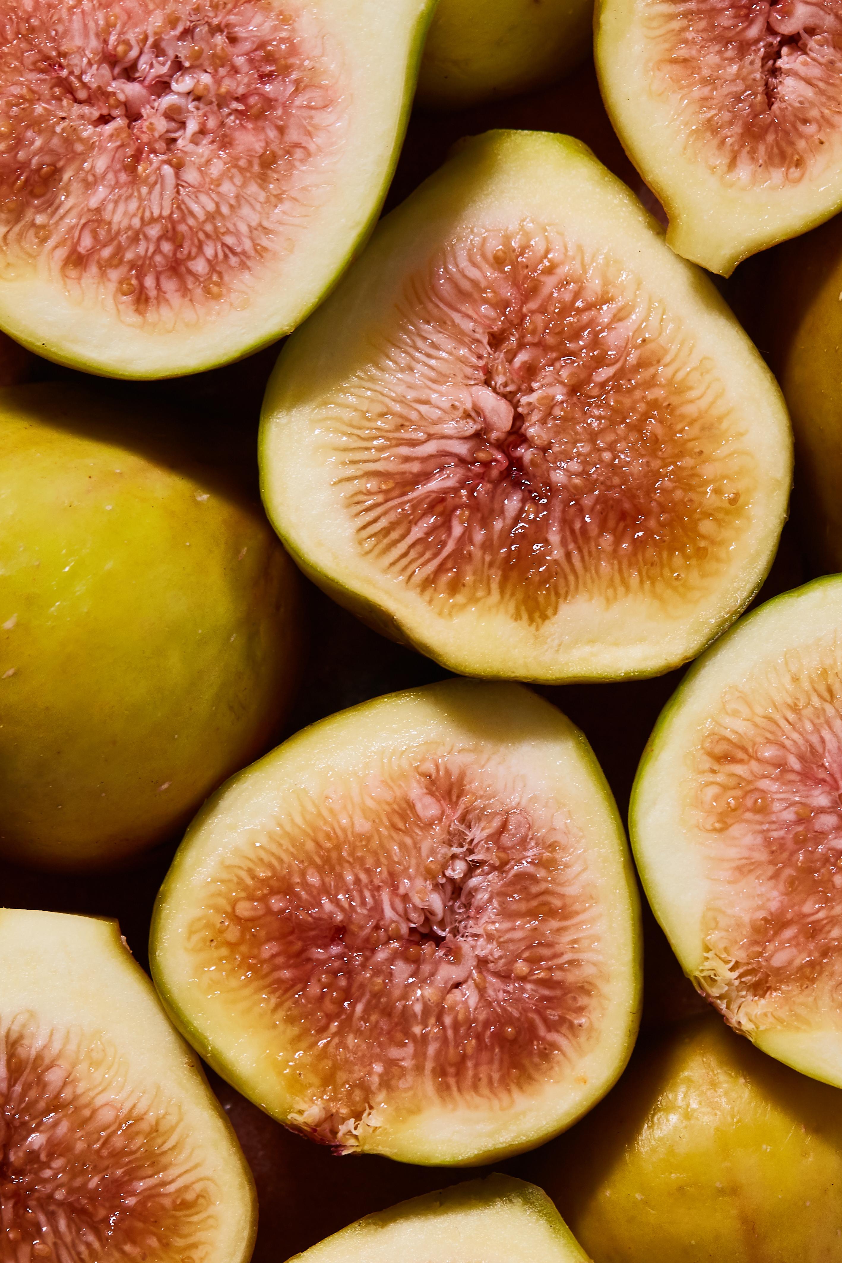 Close up of fall figs
